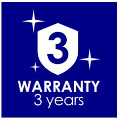 Ledspot 3 jaar garantie